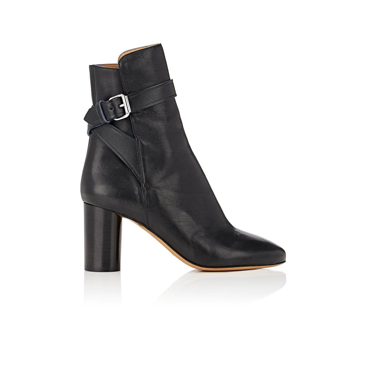 Isabel Marant Reaves Leather Booties genuine cheap online PHB8Mqv3p