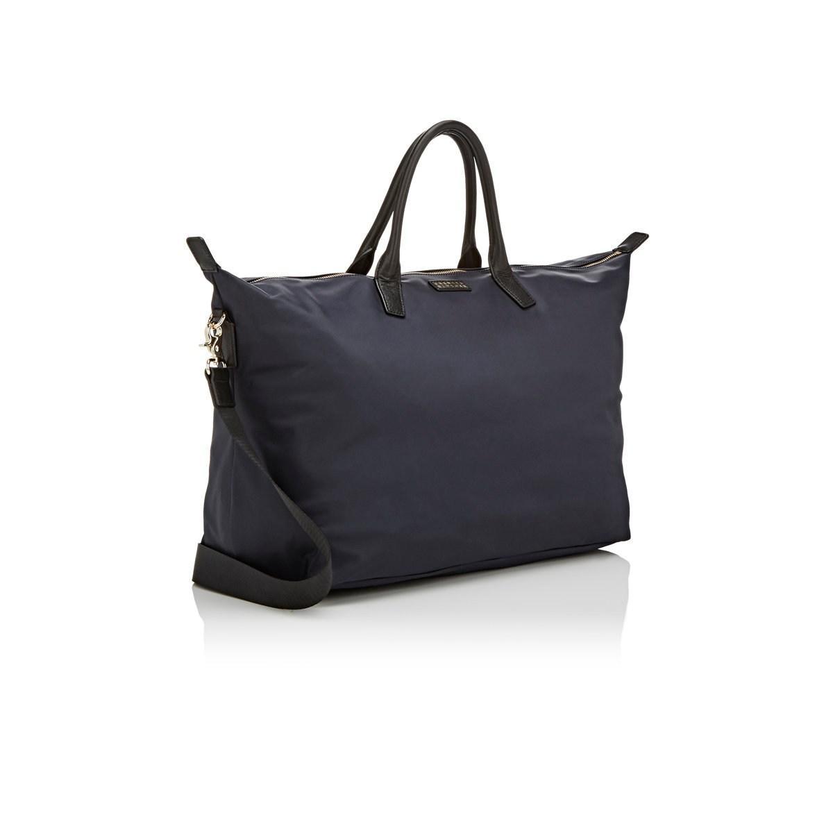 4954b952420f Barneys New York - Blue Medium Weekender Bag for Men - Lyst. View fullscreen