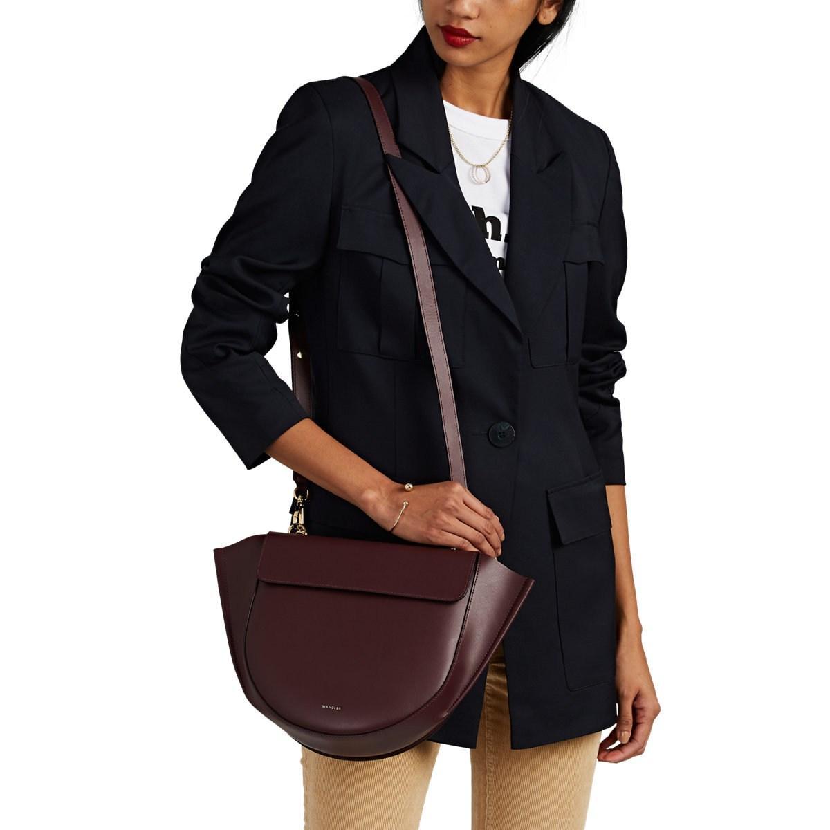 a91b4ebb91 Wandler - Purple Hortensia Medium Leather Shoulder Bag - Lyst. View  fullscreen