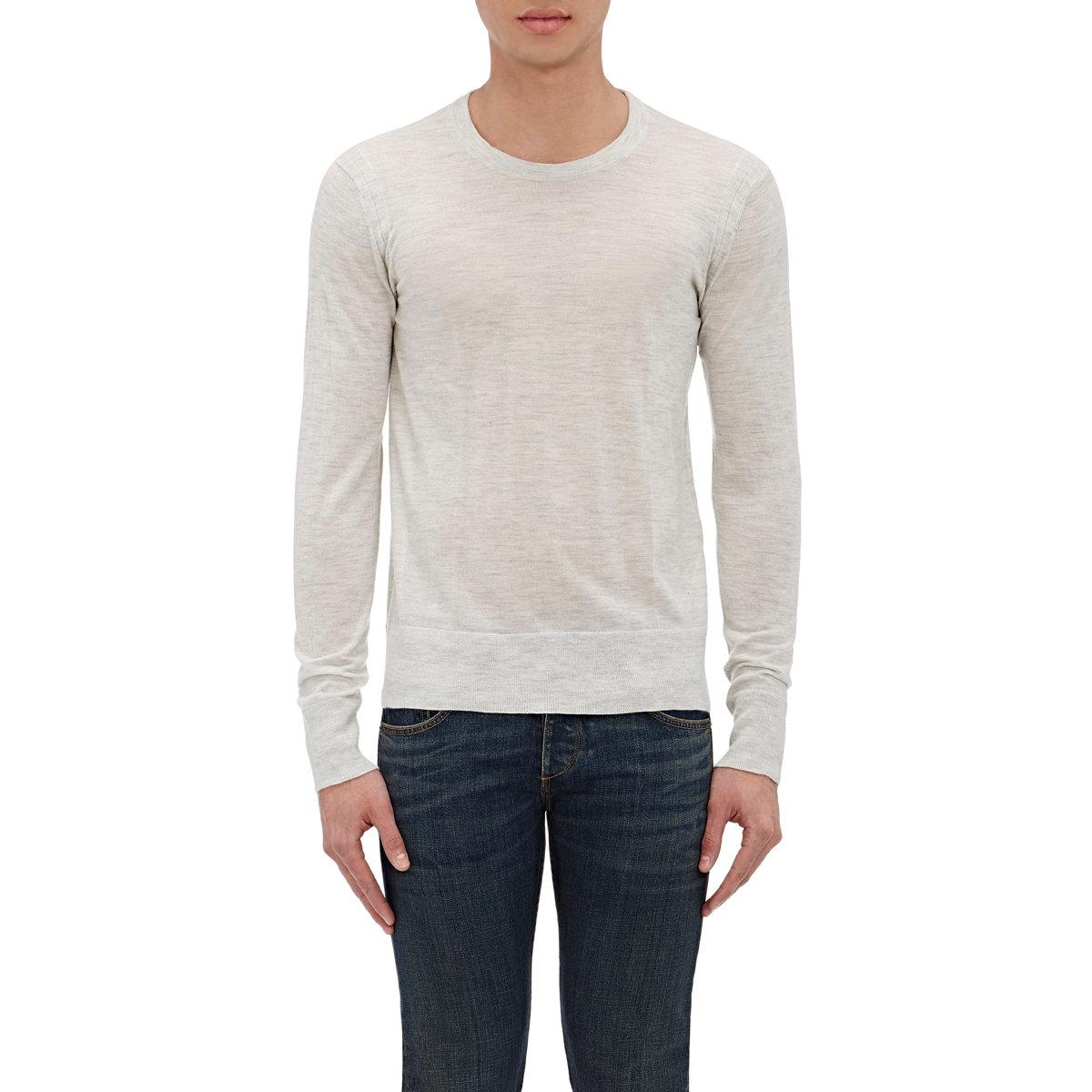 Rag Bone Men 39 S Miles Sweater In White For Men Lyst