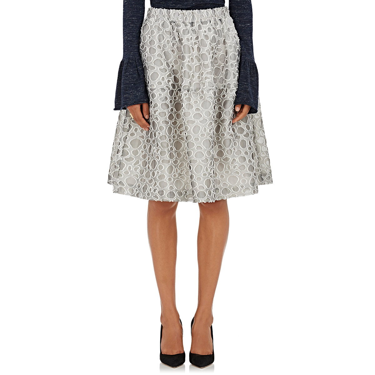 Elegant Womens Wrap ALine Skirt  Womens New Arrivals  Abercrombiecom