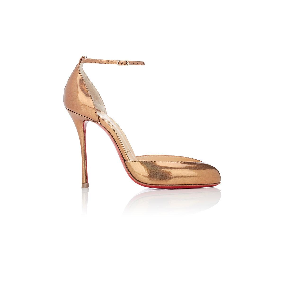 3afae1c46ca7 Lyst - Christian Louboutin Dollyla D orsay Pumps in Natural