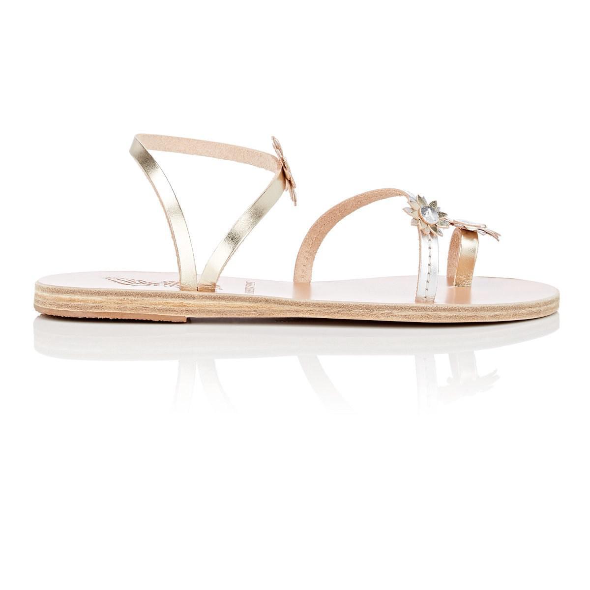 Womens Sheila Leather Sandals Ancient Greek Sandals MzLsk4g