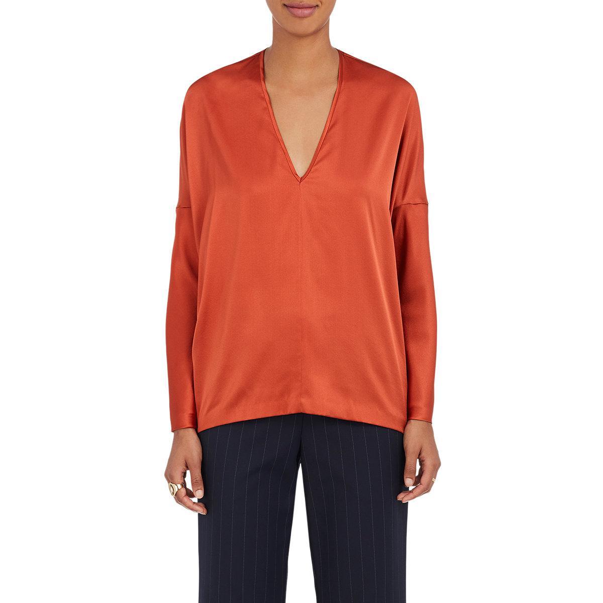 Low Shipping Online Lena Silk Tunic Zero + Maria Cornejo Cheap Footlocker Finishline Discount High Quality Fashionable Cheap Online paGT1w