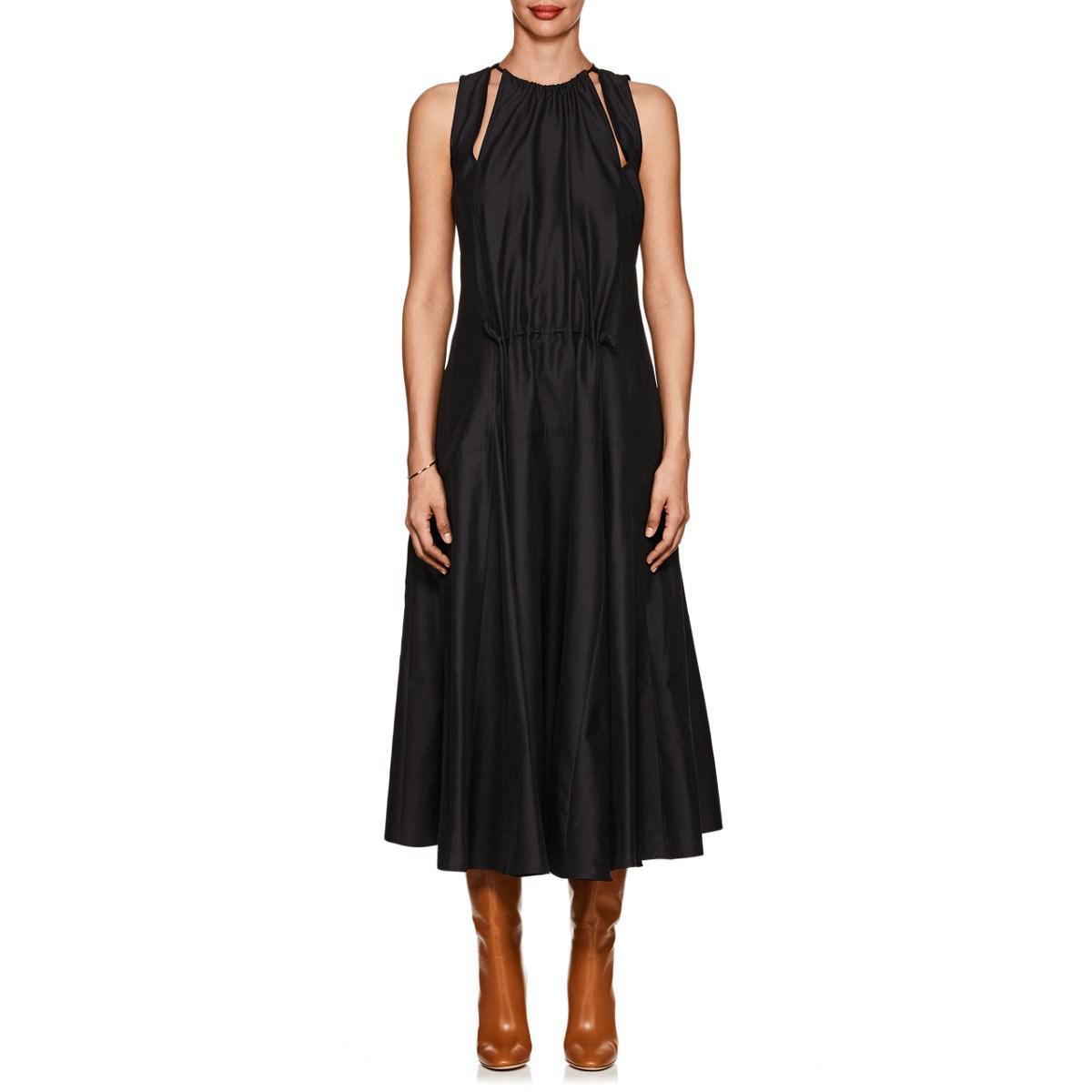 ff2ca05833 Lyst - Derek Lam Cotton Poplin Tank Dress in Black