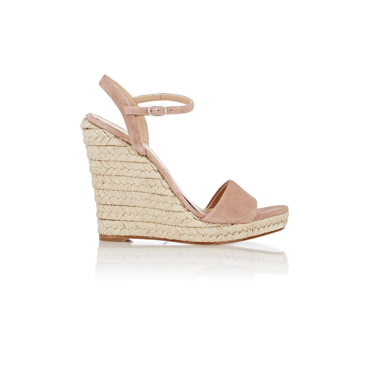 Womens Fania Platform Wedge Sandals Barneys New York rNrnj8ALpG