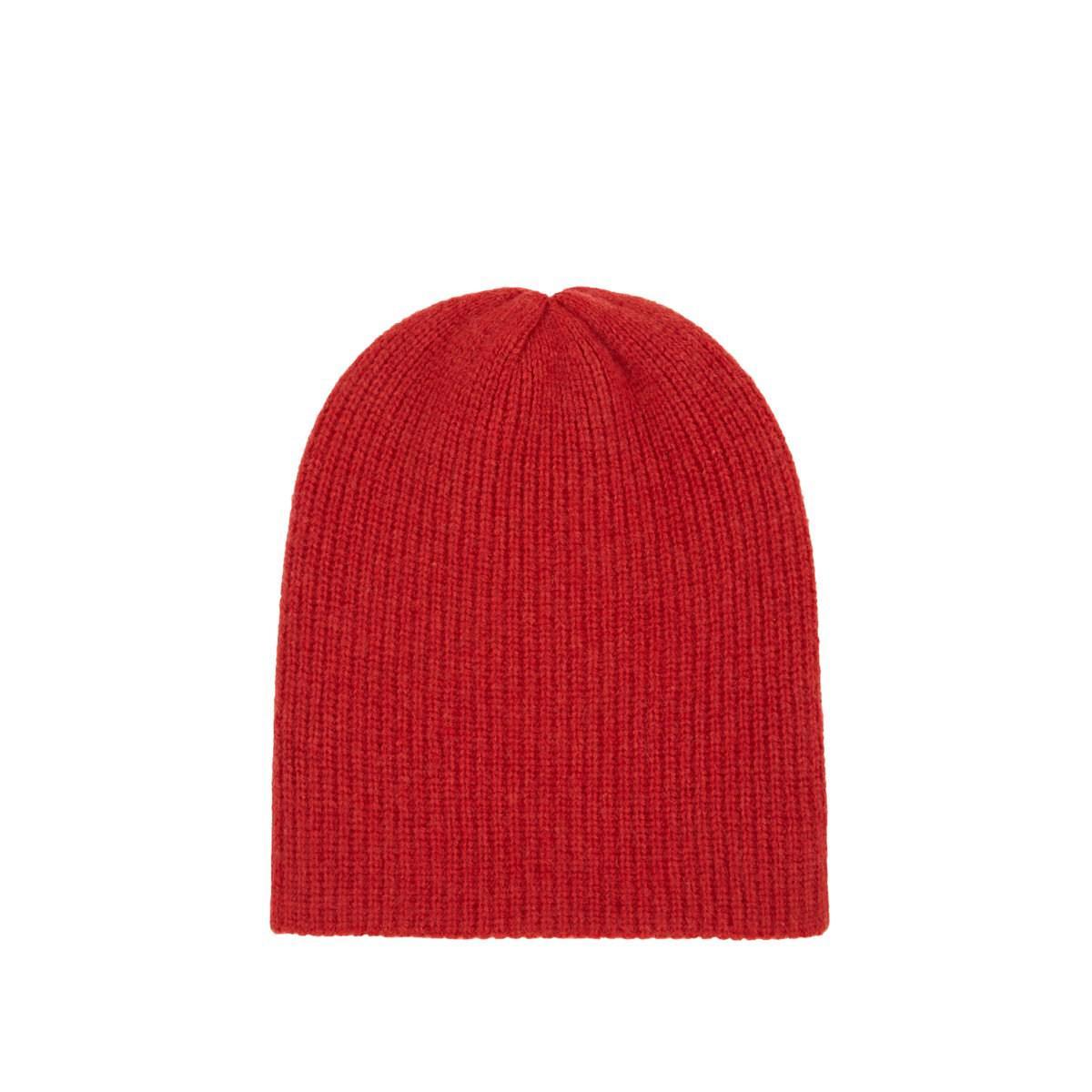 c565008691c The Elder Statesman Watchman Cashmere Cap in Red for Men - Lyst