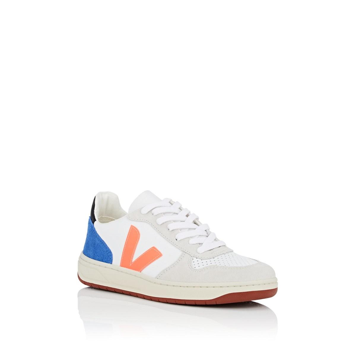 cc93ff38766d Veja - White V-10 Leather   Suede Sneakers - Lyst. View fullscreen