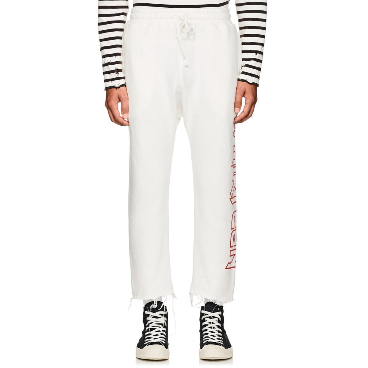 eb1acdb5c r13-White-Logo-Cotton-blend-Crop-Sweatpants.jpeg