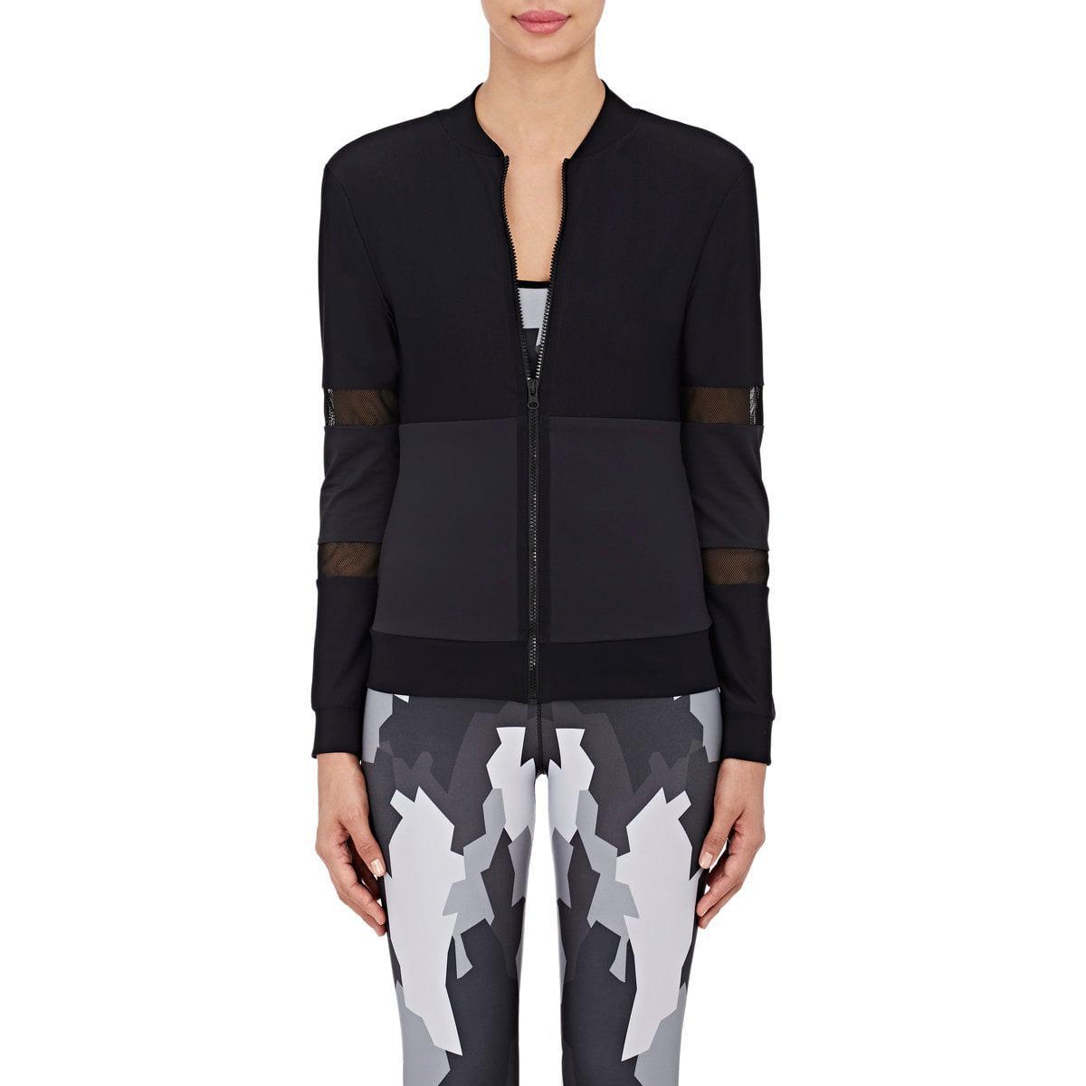 lyst ultracor mesh microfiber performance jacket in black. Black Bedroom Furniture Sets. Home Design Ideas