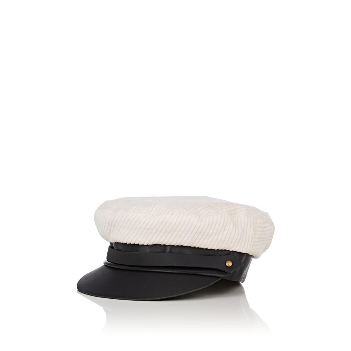 7ea541dbb713a Lola Hats. Women s Corto Maltese Corduroy Chauffeur Cap