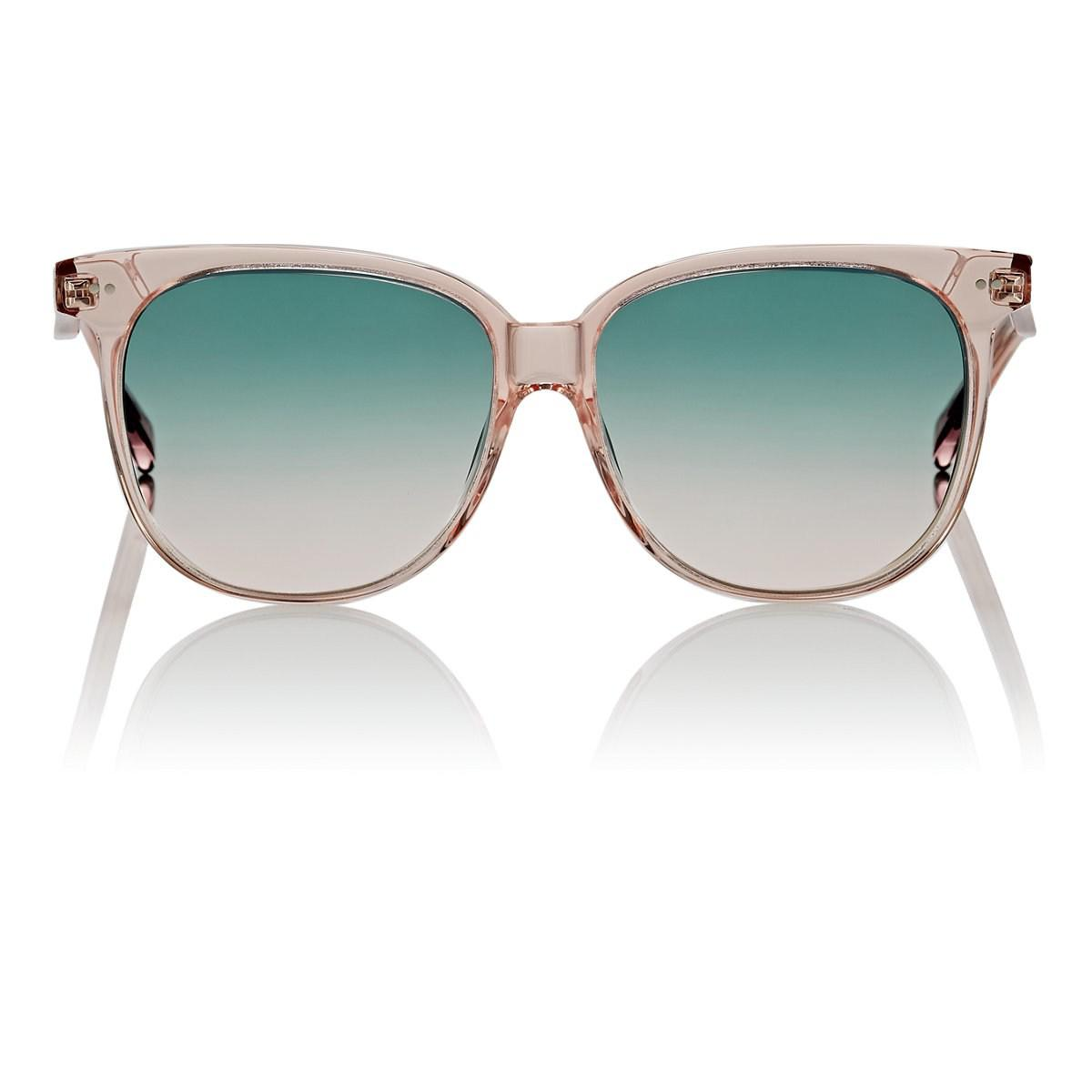 1b4bf8147f Céline. Women s Oversized Rounded Square Sunglasses