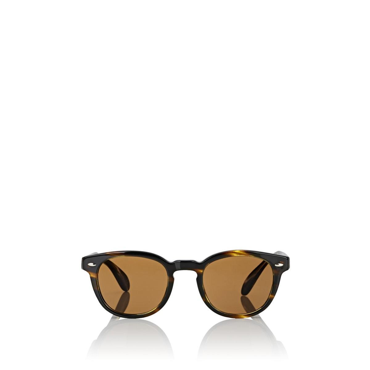 7284ff14998b Oliver Peoples Sheldrake Sun Sunglasses in Brown for Men - Lyst