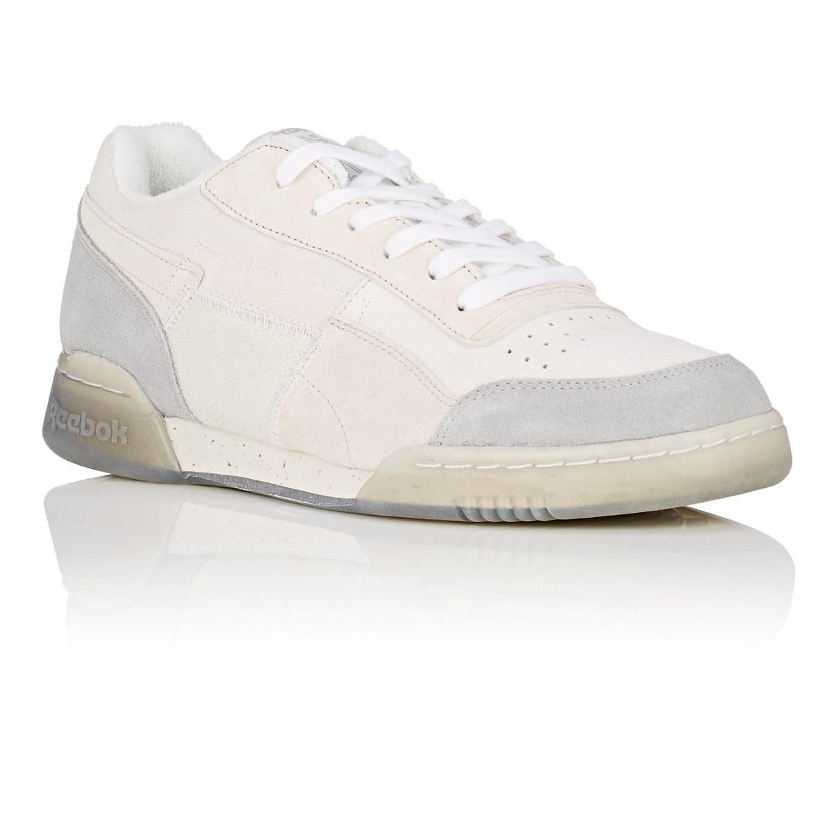 39182b28c0509 Reebok - White Workout Plus Tribute Sneakers for Men - Lyst. View fullscreen
