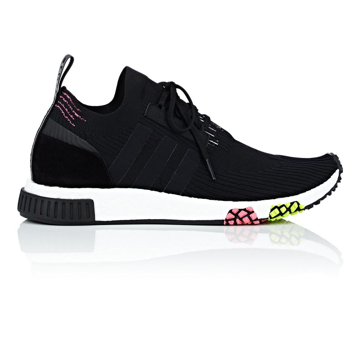 official photos 3b0cd c6083 adidas. Mens Black Nmd Racer Primeknit Trainers