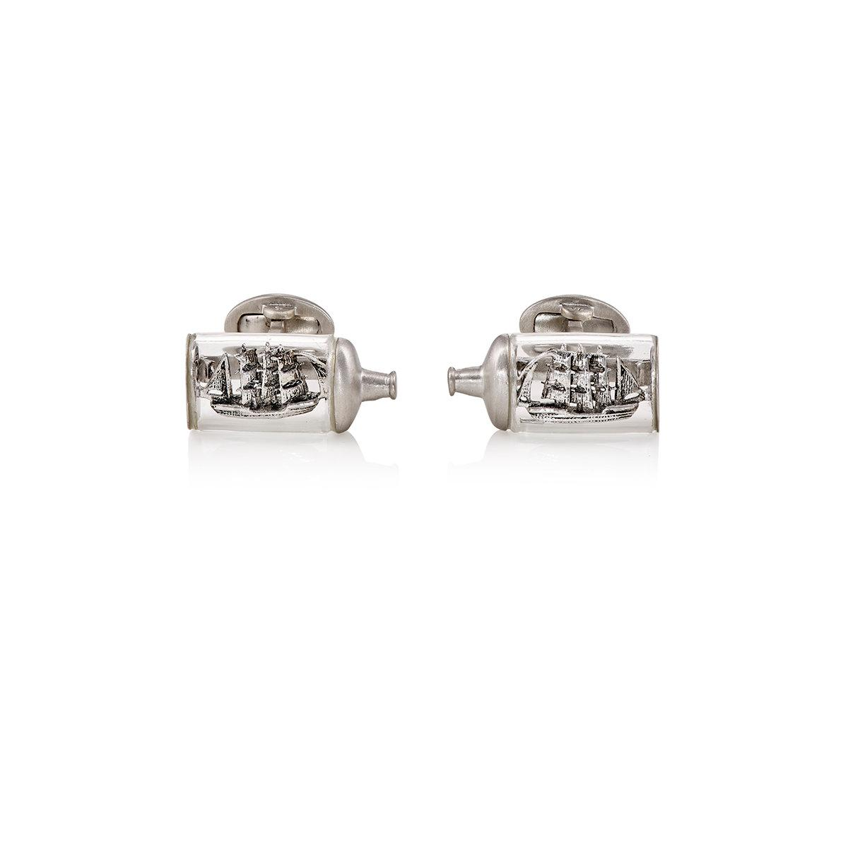 Jan Leslie Mens Three-Wise-Monkeys Cufflinks llqEkBp