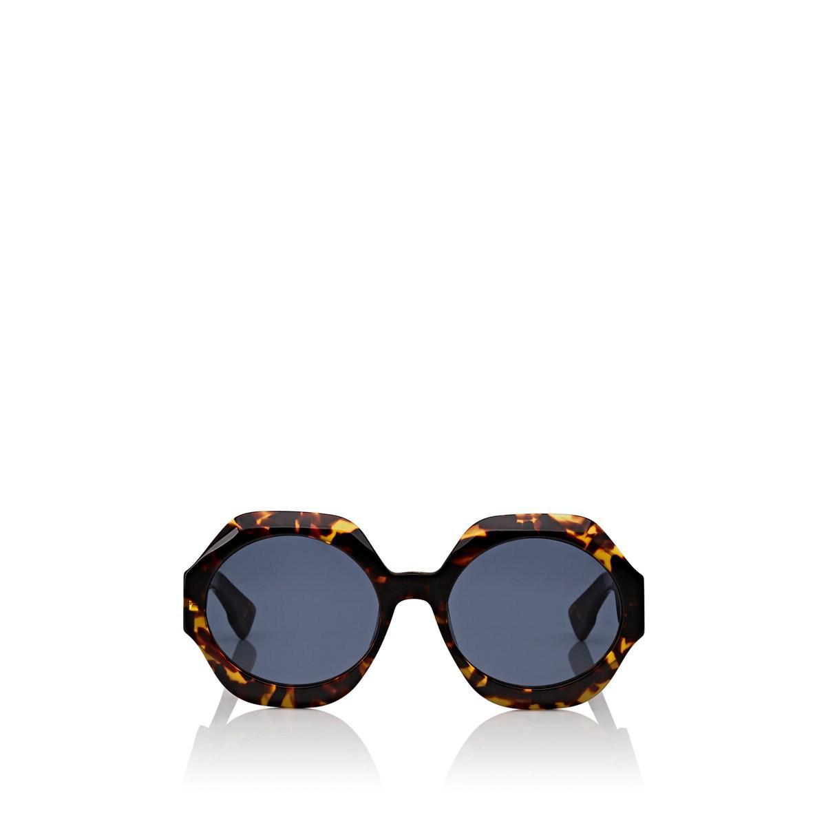3e2981fd6e Lyst - Dior spirit1 Sunglasses in Blue