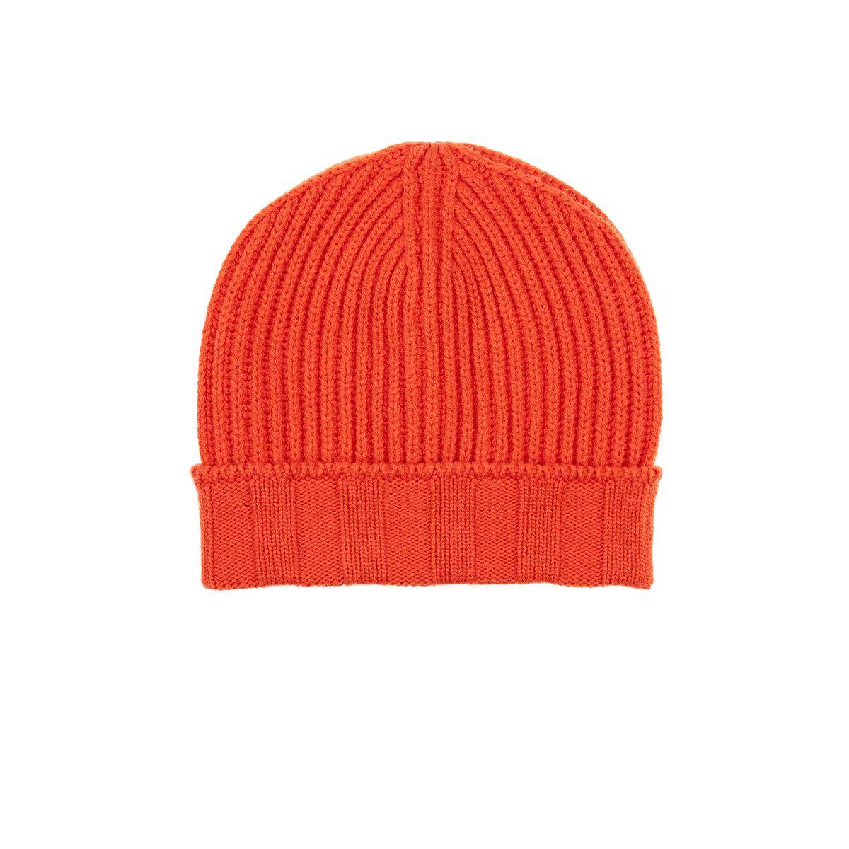 7d96436cd76 Barneys New York Rib-knit Wool in Orange for Men - Lyst