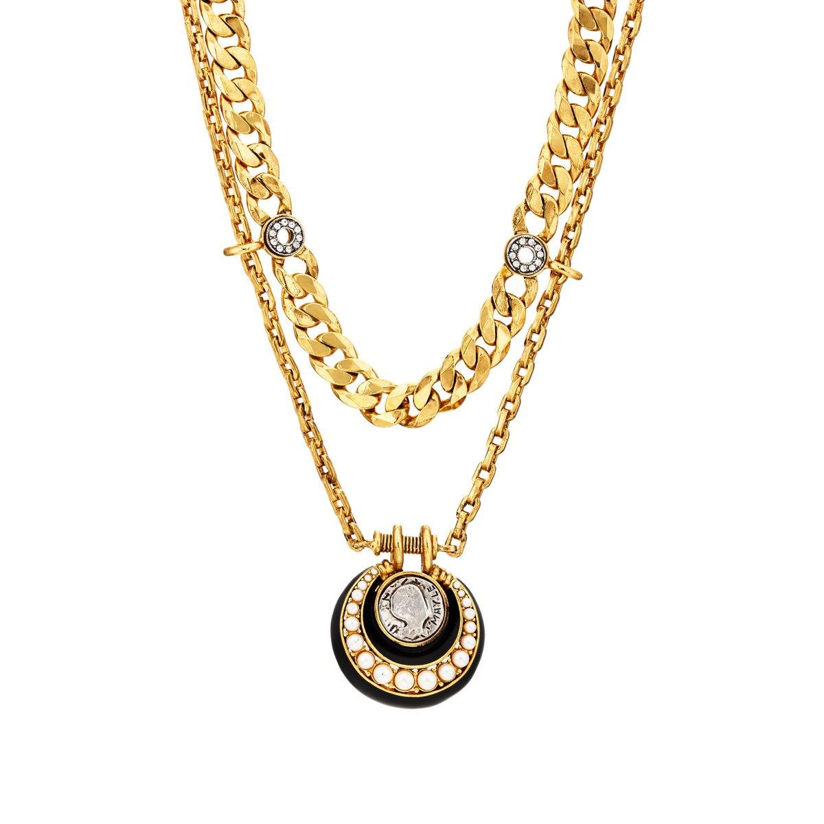 Maison Mayle Womens Confetti Necklace ElHlWO