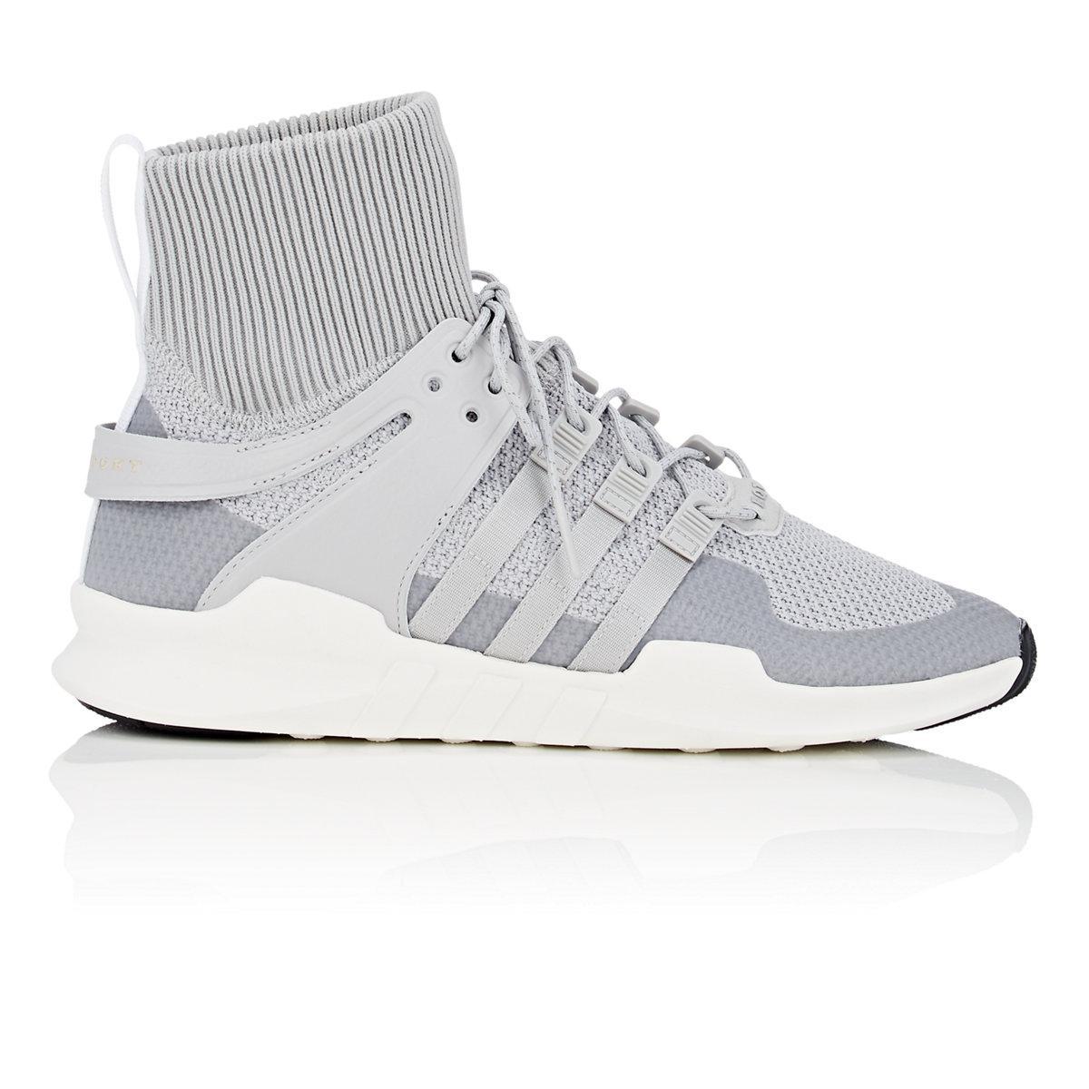 lyst adidas eqt unterstützung adv winter sneakers in grau für männer