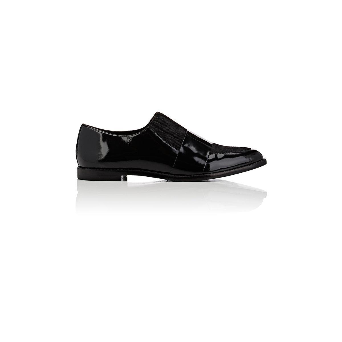 91e1f1ffb98 Lyst - Loeffler Randall Rosa Loafers in Black