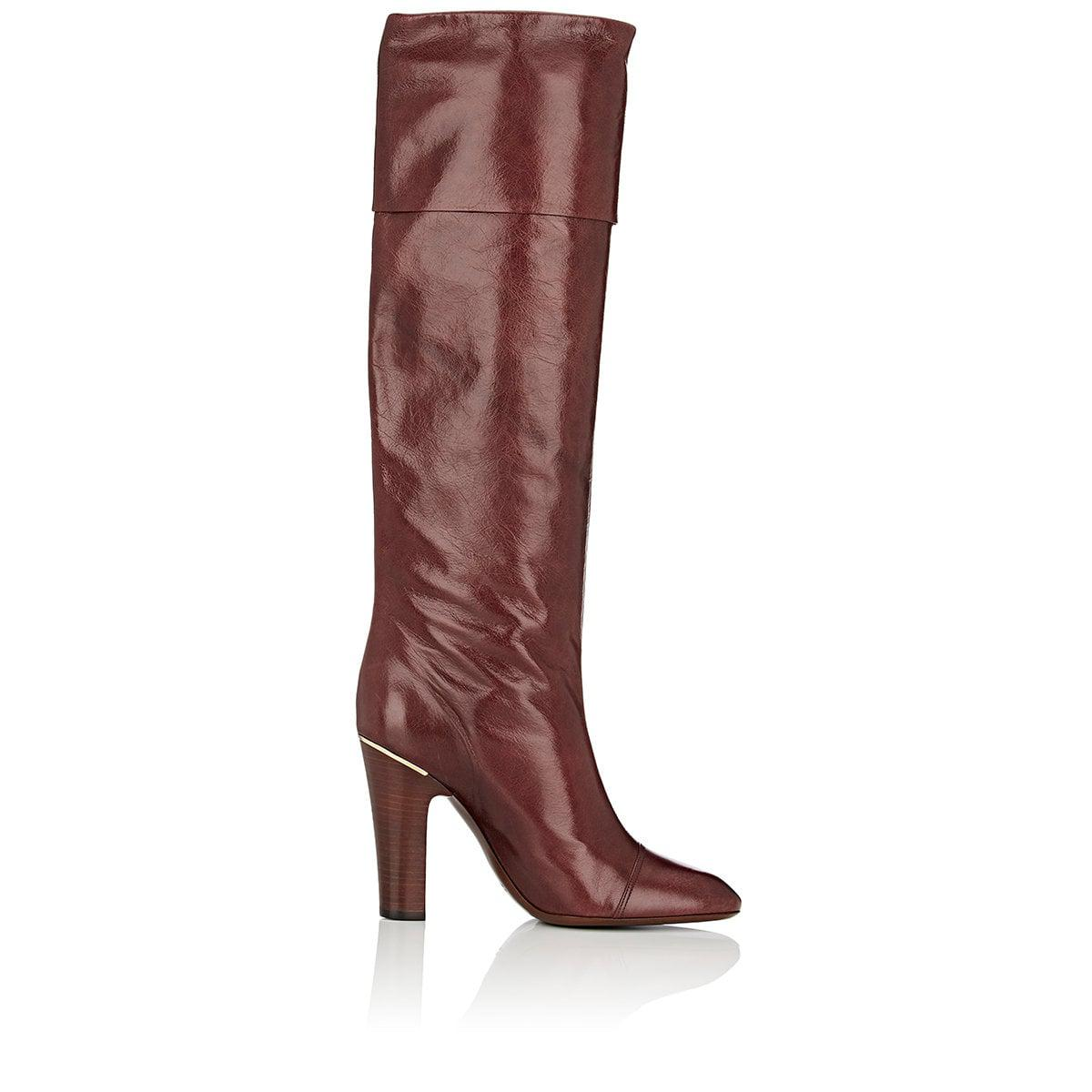 Marc Jacobs Ann Leather Knee Boots sale extremely 4yFftf6