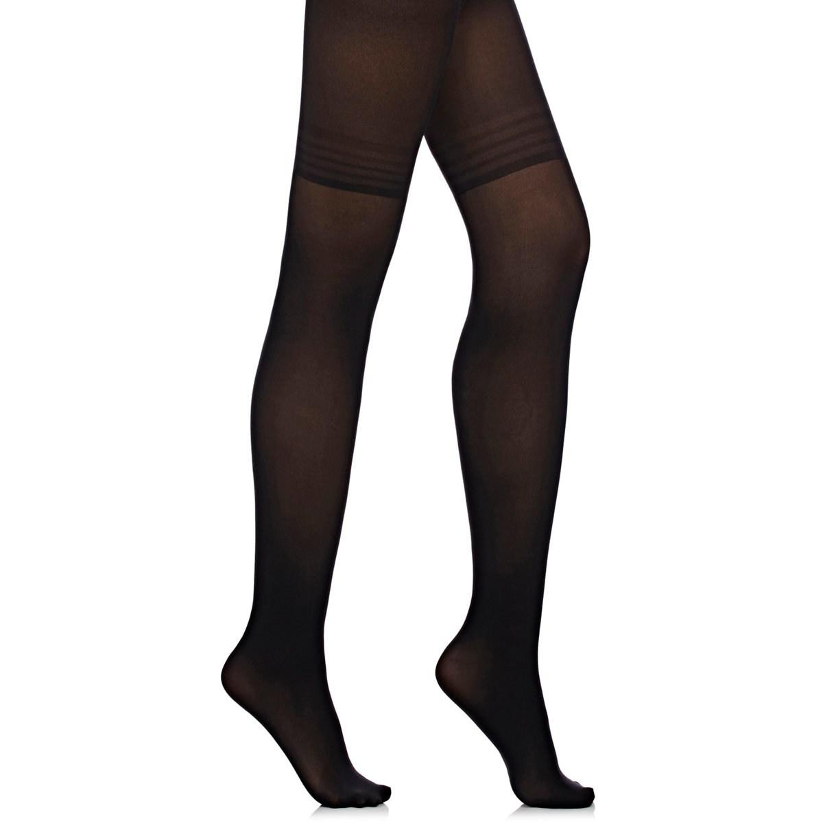 1b67a21489 Wolford Power Shape 50 Control Top Tights Size Xl in Black - Lyst