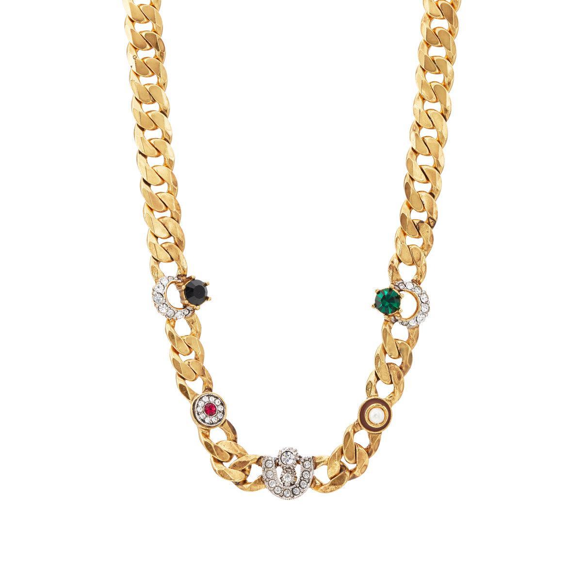 Maison Mayle Womens Luna Necklace akXf8l5Qrv
