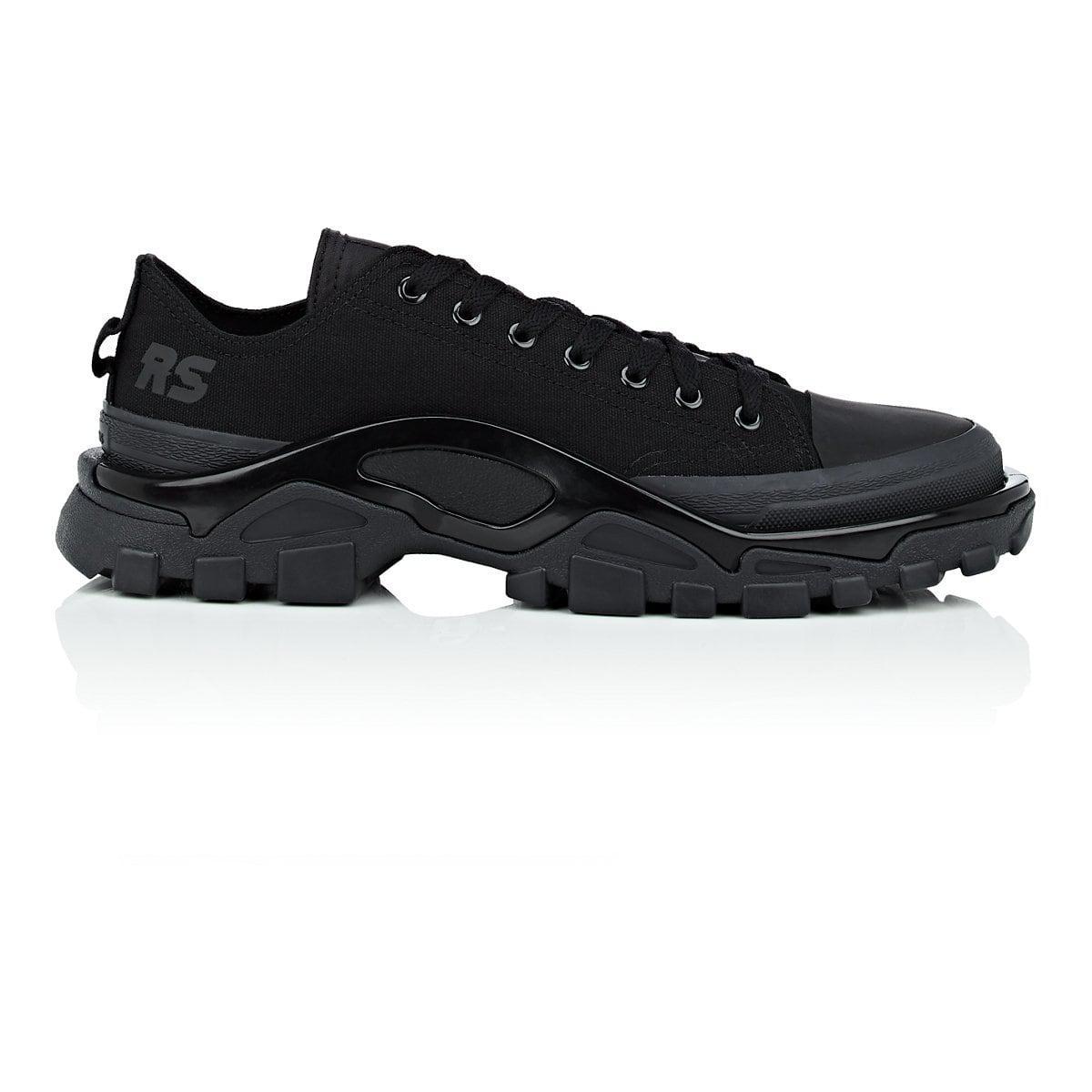 Mens Detroit Runner Canvas & Nylon Sneakers Raf Simons toSBBedy