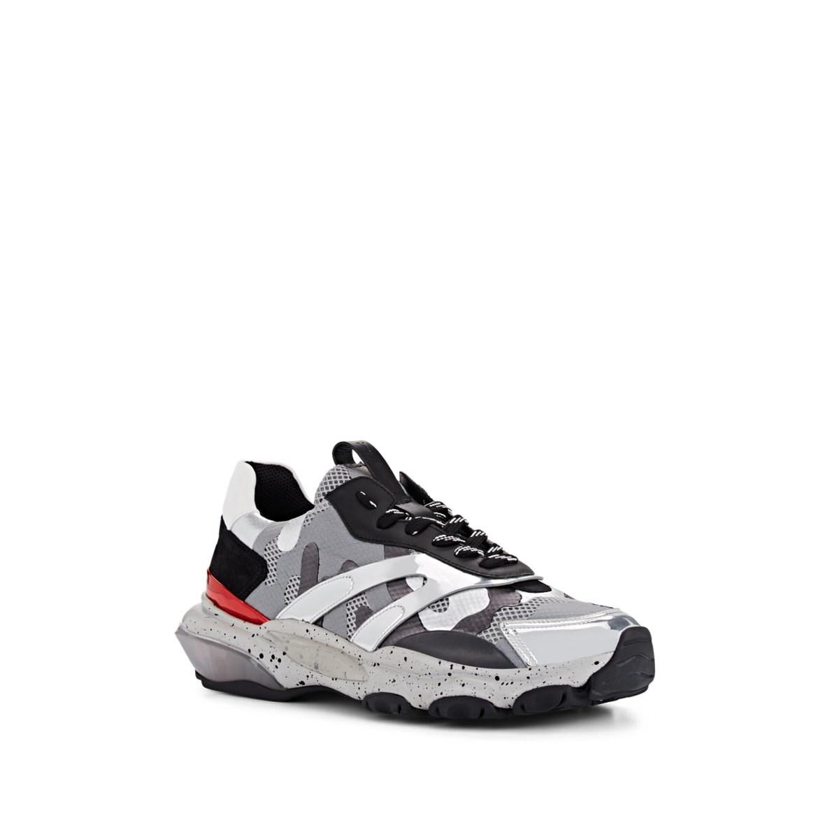 94d27528bf67b Valentino - Multicolor Runway Camouflage Sneakers Size 12 M for Men - Lyst.  View fullscreen