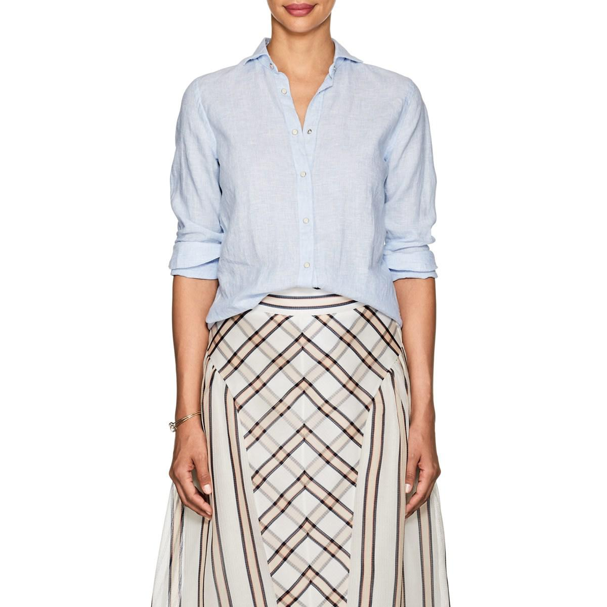 Buy Cheap Genuine Womens Linen Western Shirt Barneys New York Cheap Official Site Shop Cheap Price Release Dates Sale Online ca3xVk