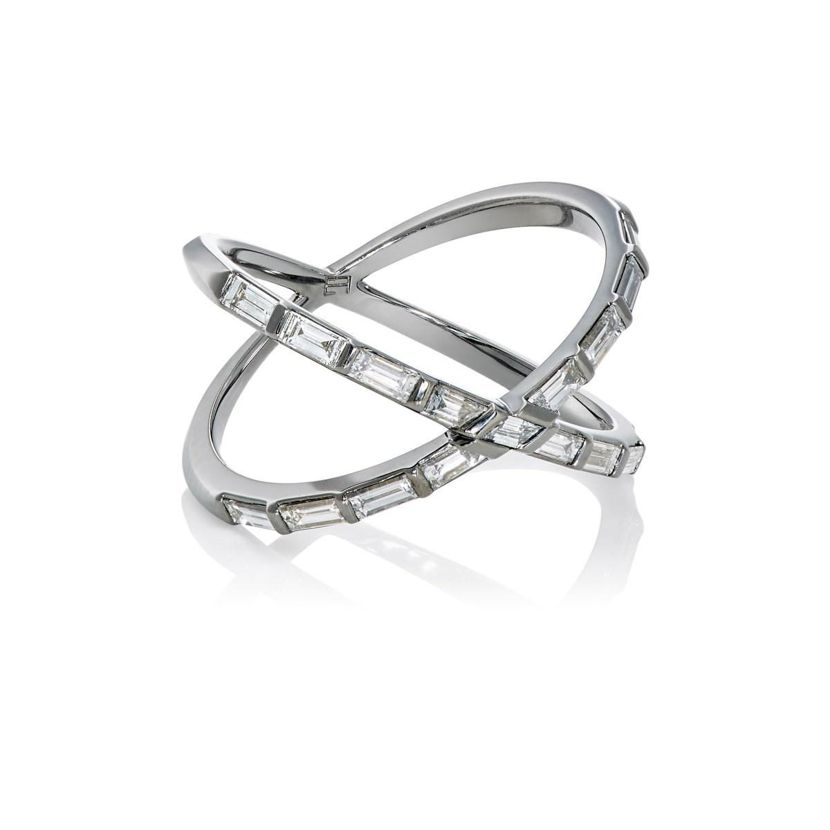 Eva Fehren Tetra Shorty Ring - Metallic LOvlygW7a