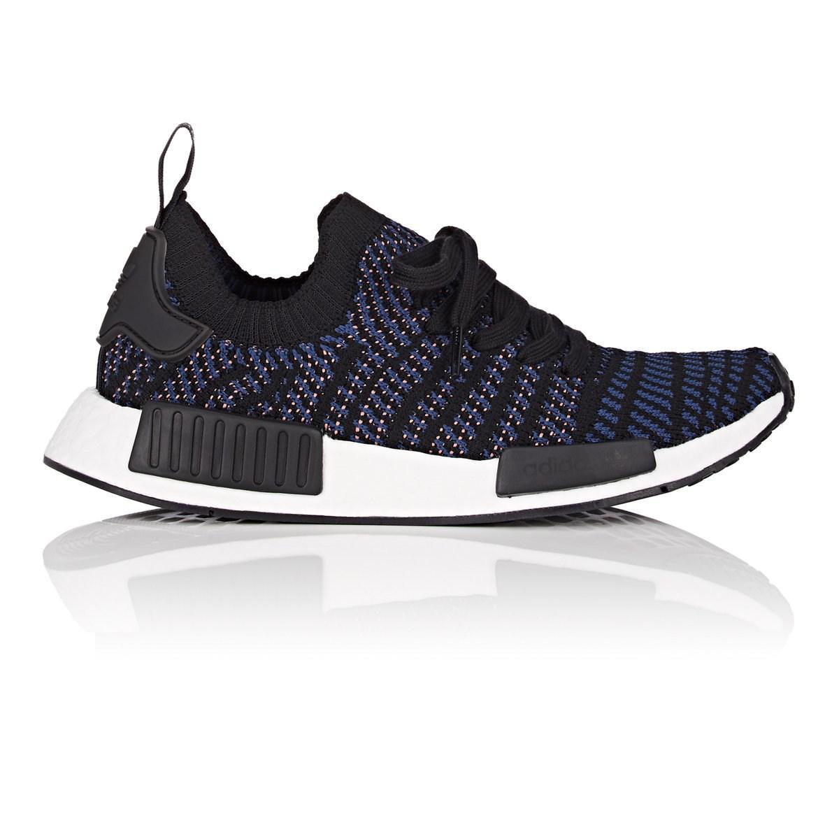 hot sale online aa6e8 2e003 adidas. Women s Black Nmd R1 Stlt Primeknit Sneakers