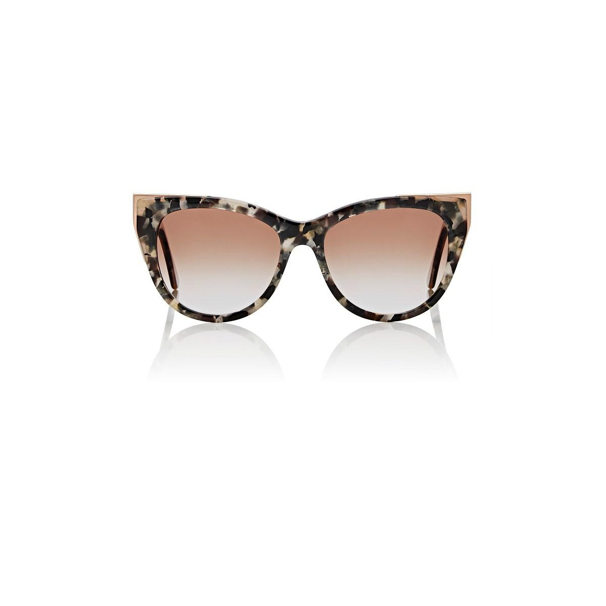 9dd8cd7547 Lyst - Thierry Lasry Epiphany Sunglasses in Brown