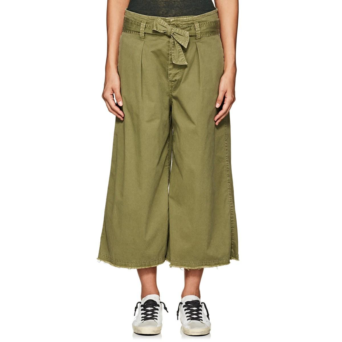 Lotan Green Drop Ellie Blend Rise In Lyst Cotton Culottes Nili kZiTOXuP