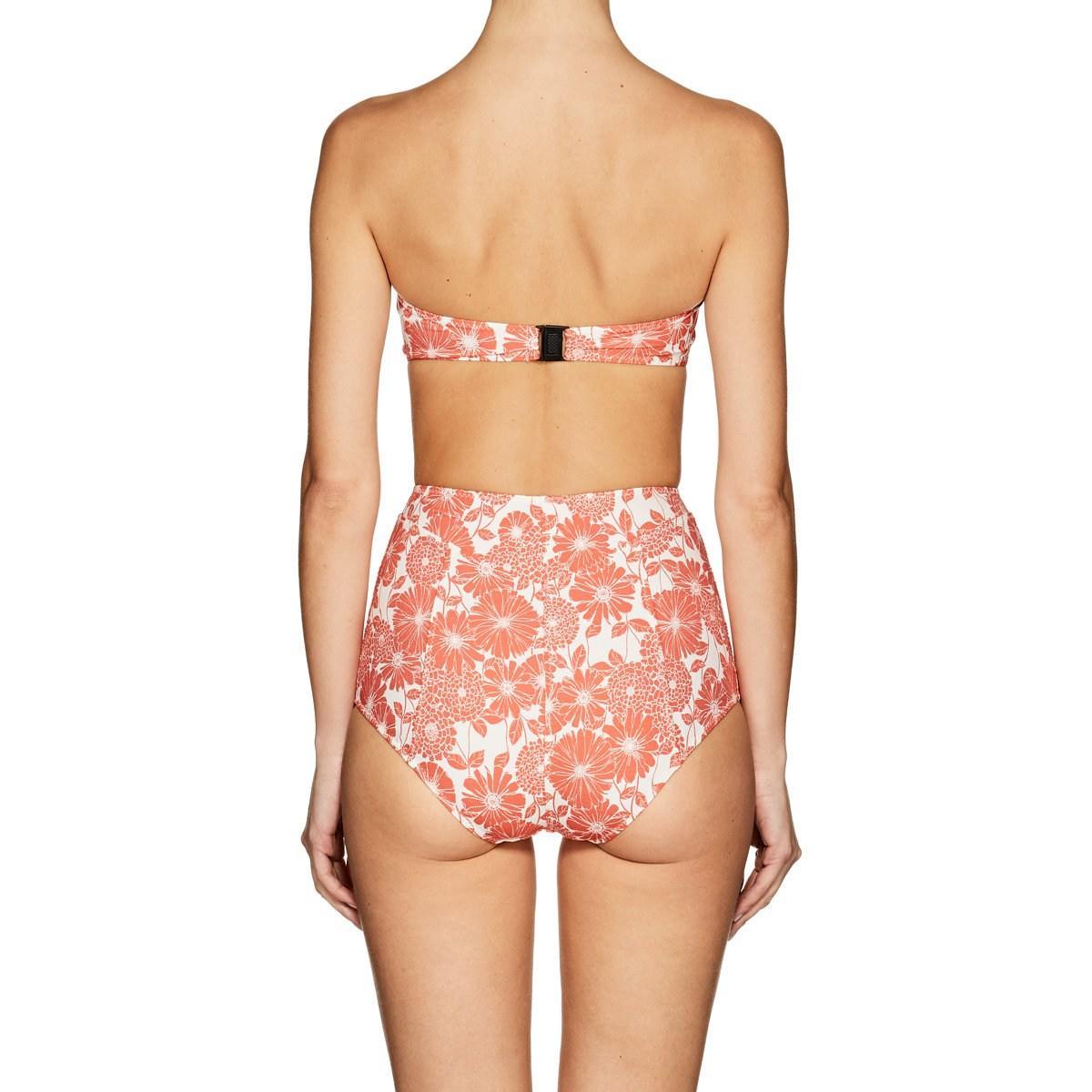 18f5f8a721586 Lisa Marie Fernandez Poppy Stretch-cotton Bikini - Lyst