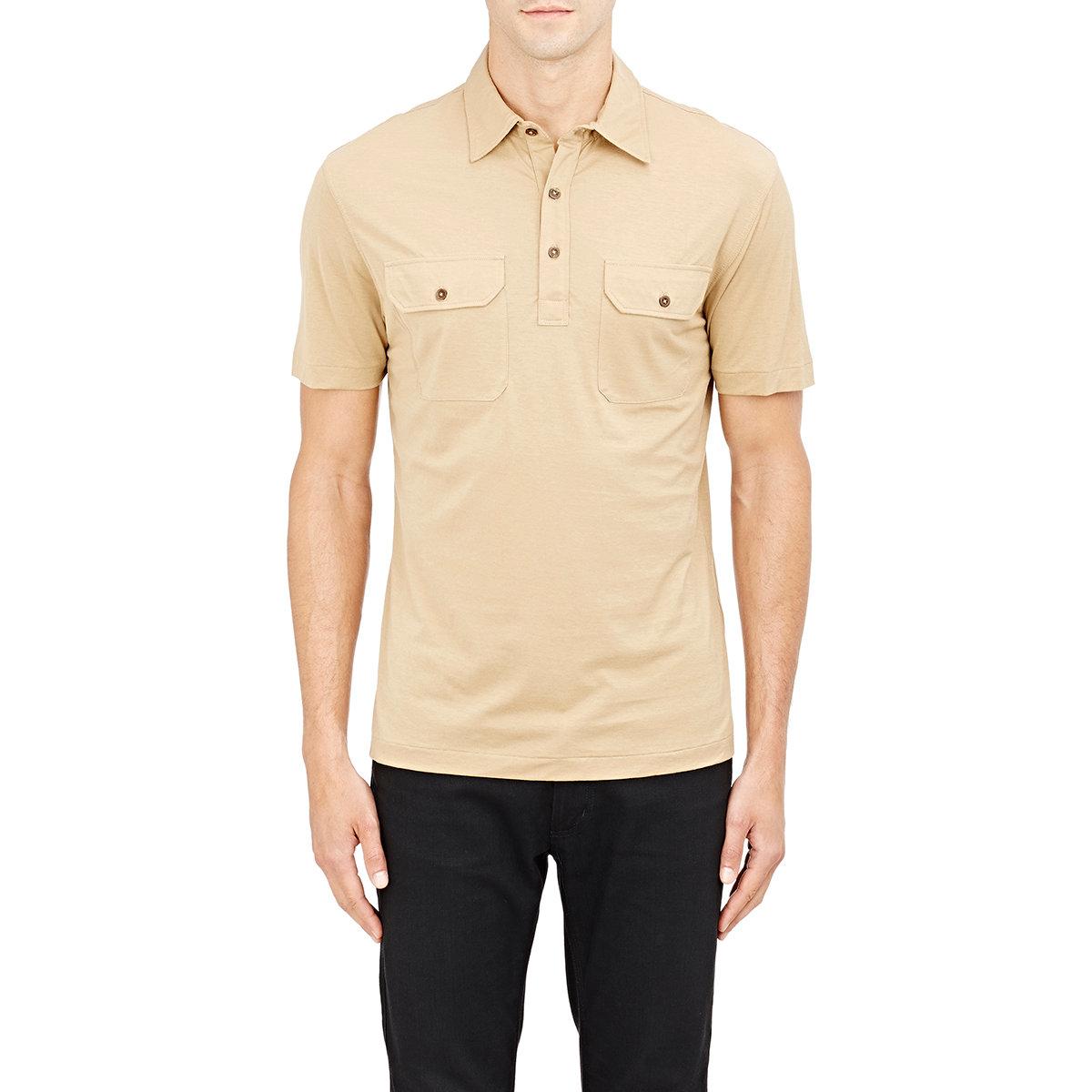 Lyst ralph lauren black label jersey polo shirt in for Ralph lauren black label polo shirt