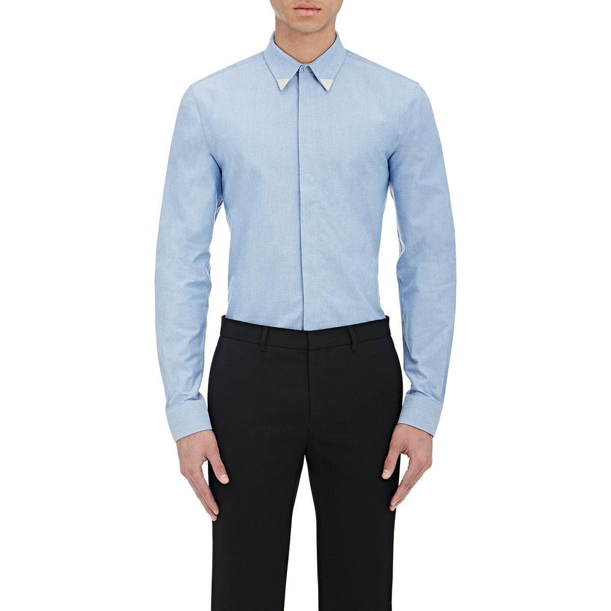 7ff4cc28985 Mens Light Blue Givenchy T Shirt