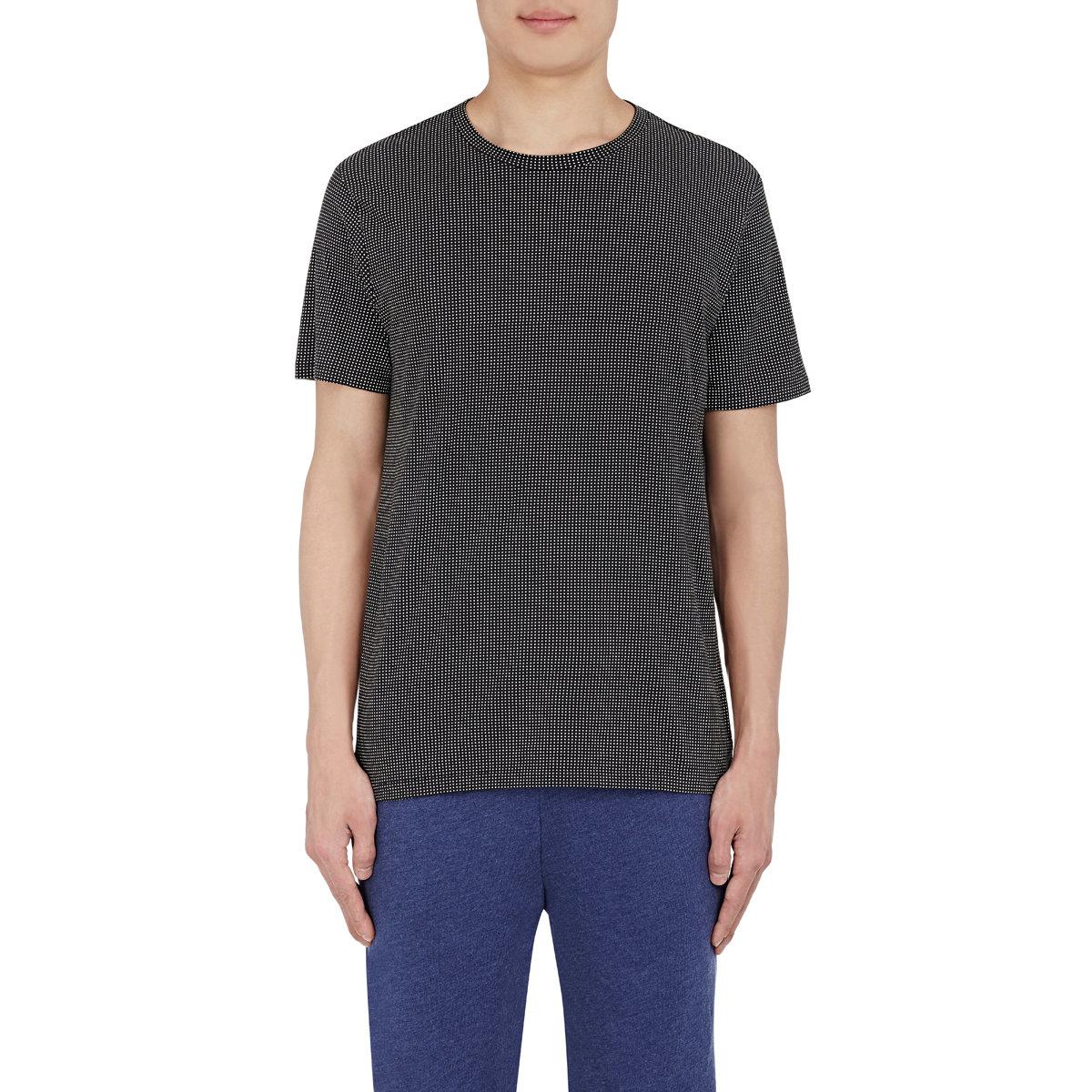 Rag Bone Men 39 S Crewneck T Shirt In Blue For Men Lyst