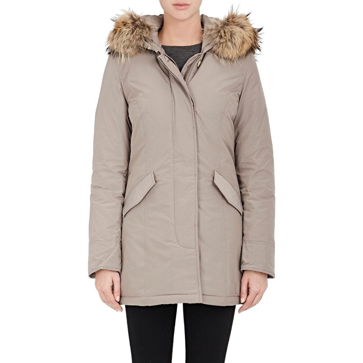 woolrich luxury arctic down parka in natural lyst. Black Bedroom Furniture Sets. Home Design Ideas