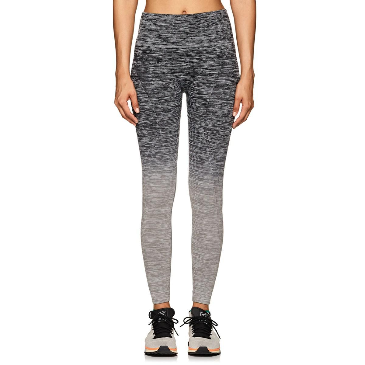 Womens Fade Gradient Tech-Jersey Leggings Electric Yoga 53pvow7