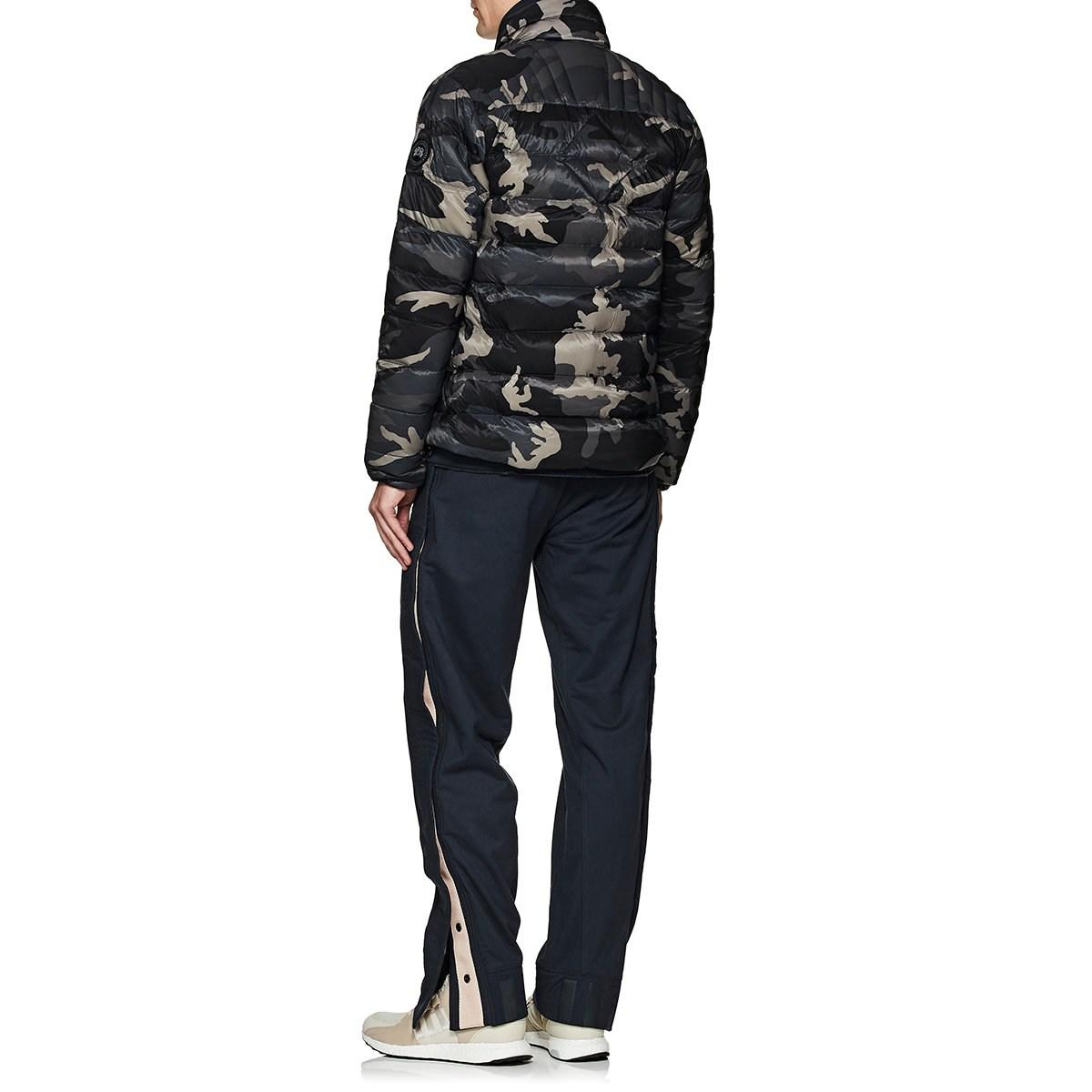 5a62551fb41 Canada Goose Brookvale Camouflage Down-quilted Coat in Black for Men ...