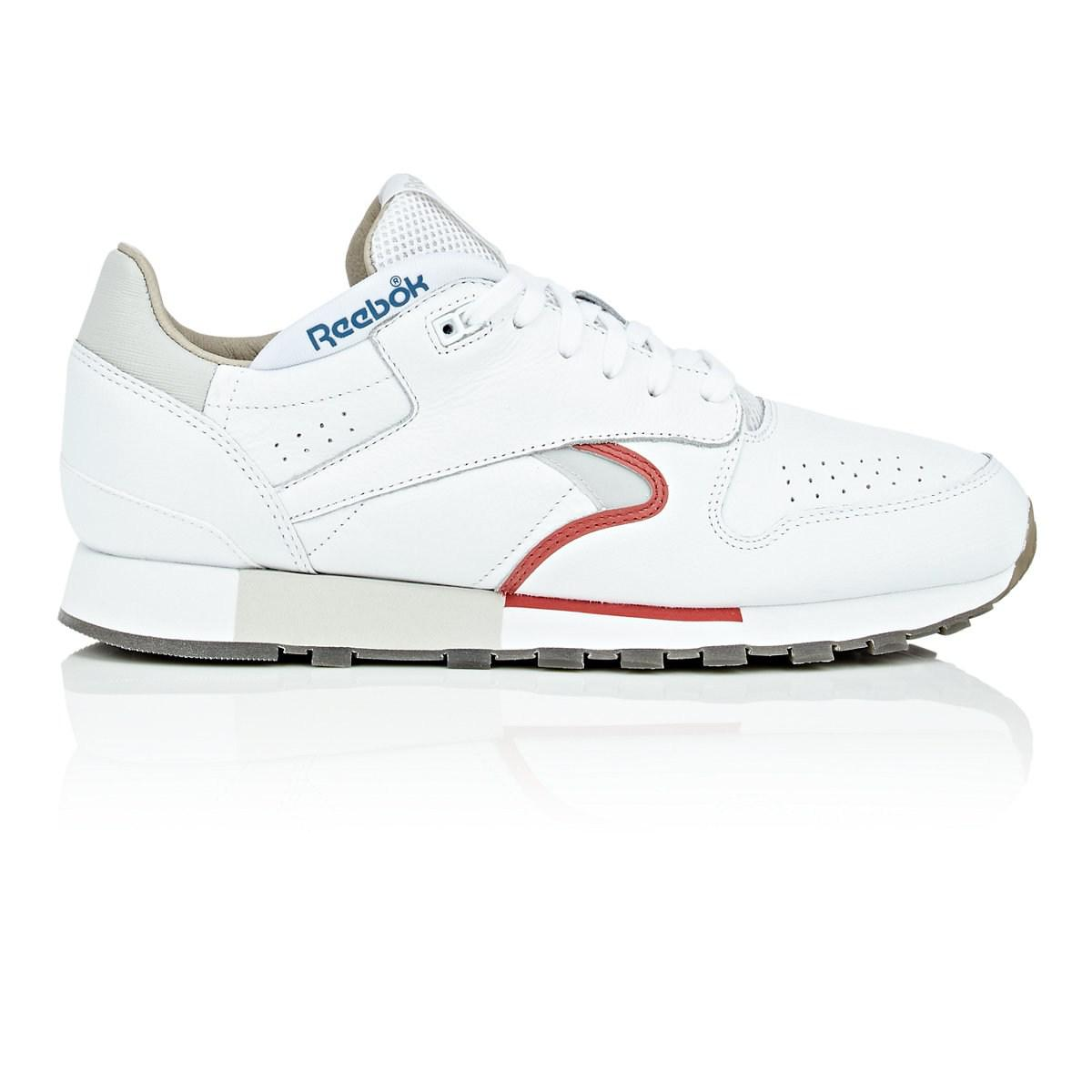 Lyst - Reebok Urge Leather Sneakers in White for Men a3a4d77fe