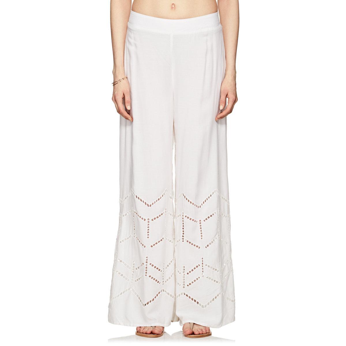 Womens Ninfa Ladder-Stitched Beach Pants Vix FhBUNo