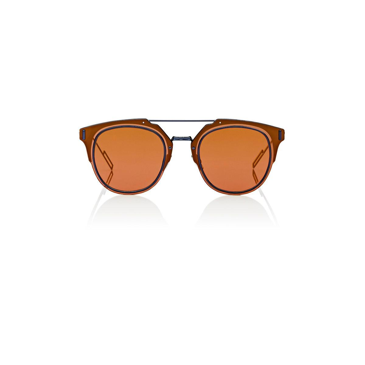 ae5ef2f57a7 Dior Homme dior Composit 1.0 Sunglasses in Orange for Men - Lyst