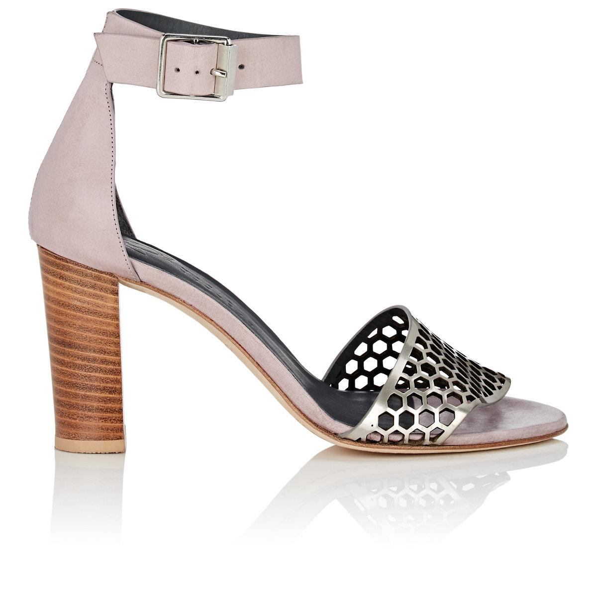 Cheap Affordable Clearance Marketable Womens Odin Perforated Leather Sandals Zero + Maria Cornejo Explore Discount Supply mSzLGXNeSu