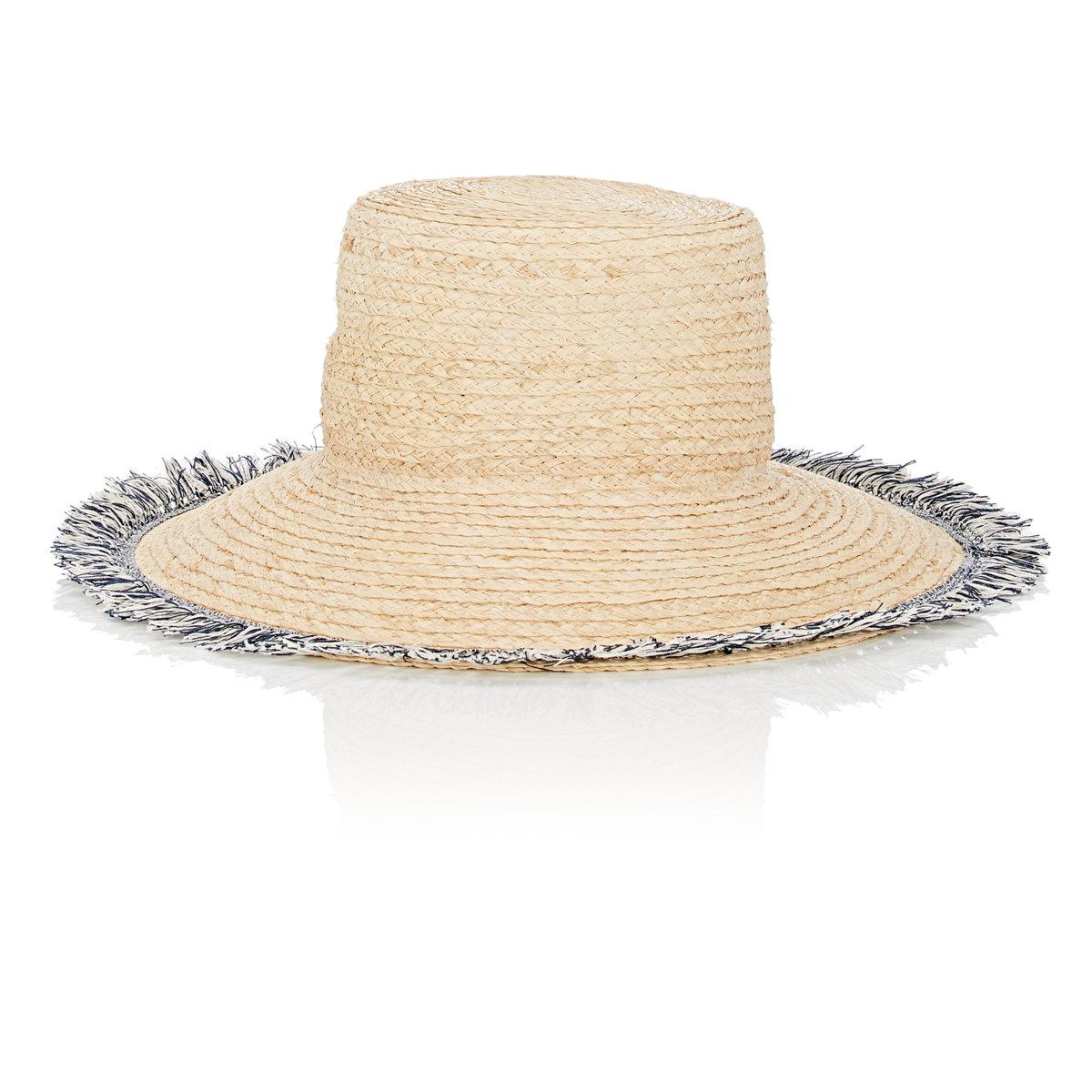 Womens Chapeau De Cow-boy Raphia Barneys New York piV2bo