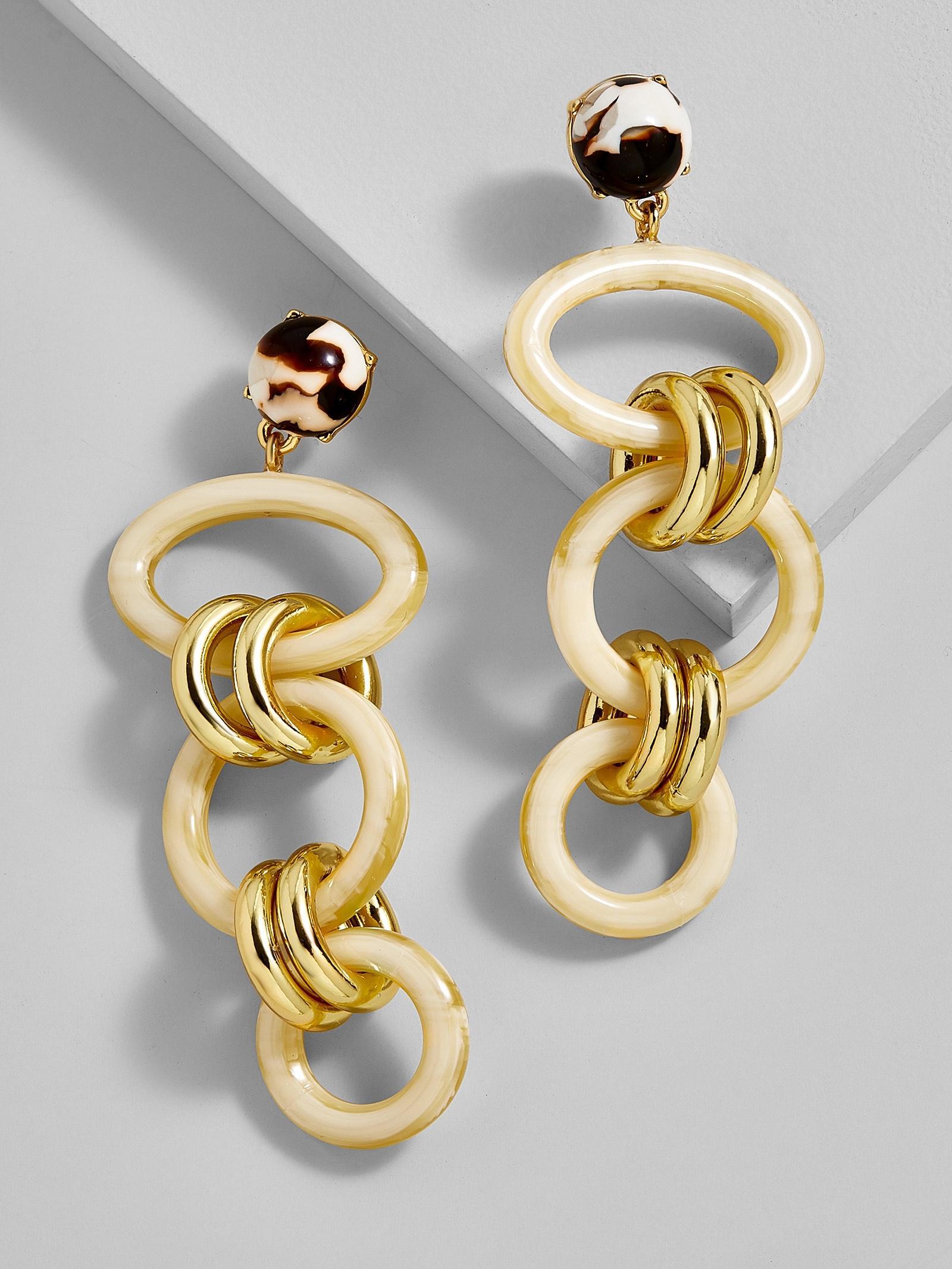 BaubleBar Fabella Linked Drop Resin Earrings 02ADi6Kb