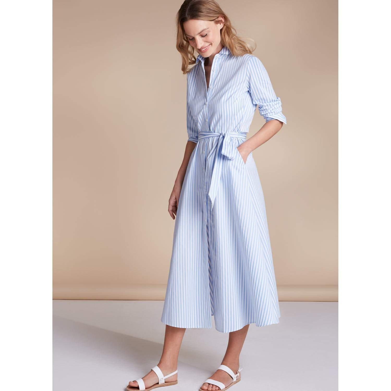 6473b61493e09 ... Blue Marley Shirt Dress - Lyst. Visit Baukjen. Tap to visit site