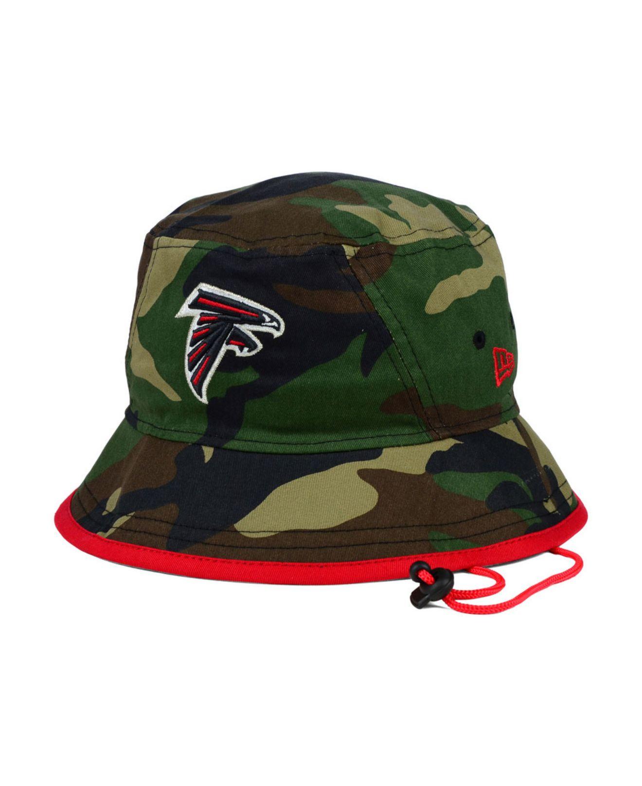 Lyst Ktz Atlanta Falcons O Pop Bucket Hat In Green For Men 441804770283